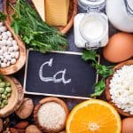An image of calcium foods