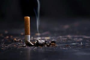 a cigarette bud